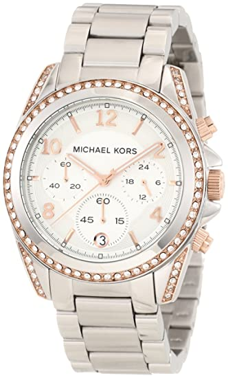 Michael Kors Reloj analogico para Mujer de Cuarzo con Correa en Acero Inoxidable MK5459: Michael Kors: Amazon.es: Relojes