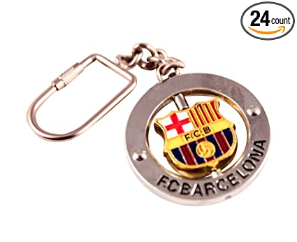 Amazon.com: Llavero oficial del FC Barcelona con escudo ...