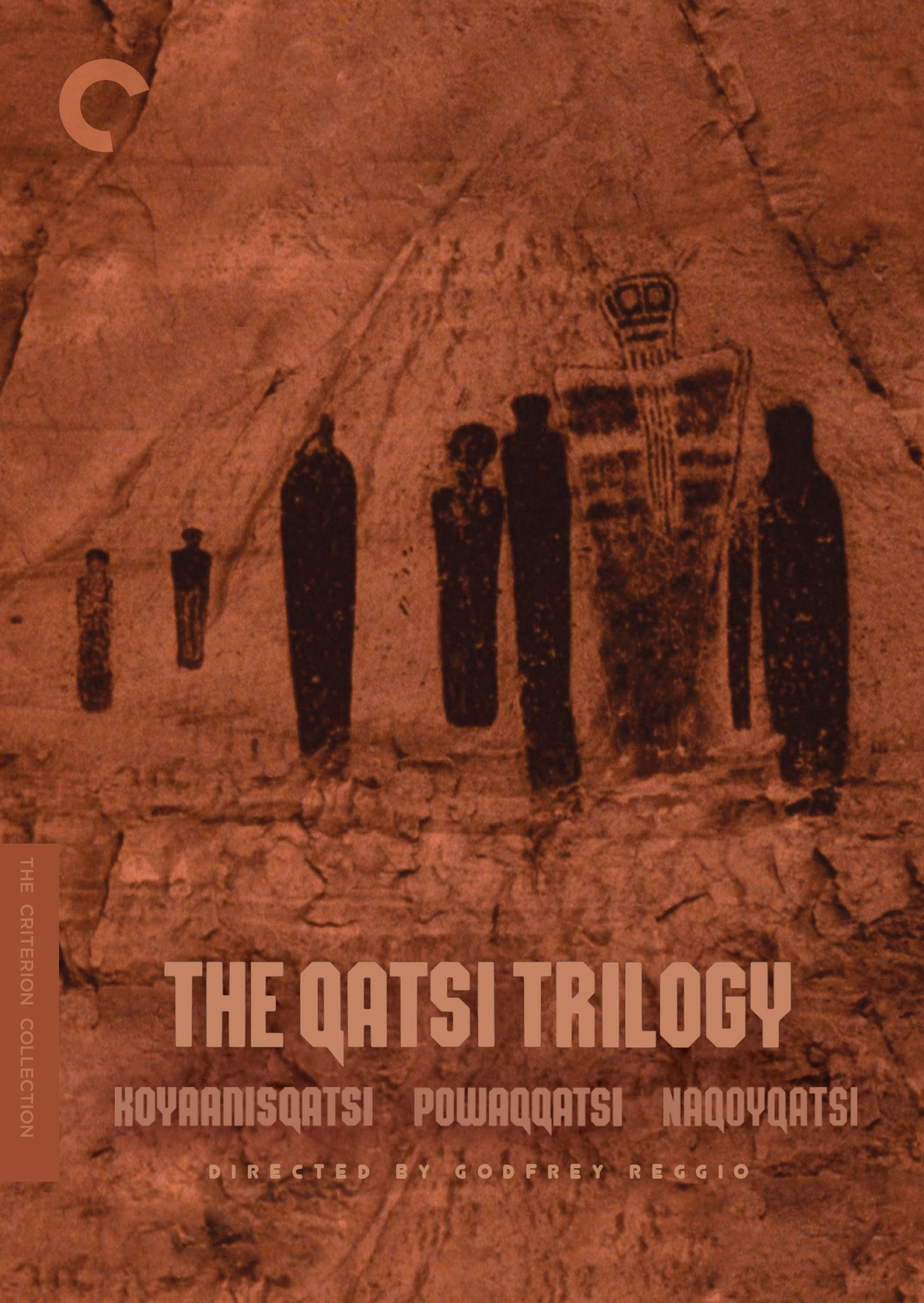 DVD : The Qatsi Trilogy (Criterion Collection) (Widescreen, Dolby, 3 Disc)