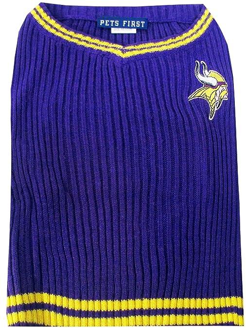 quality design 810ae a5874 Minnesota Vikings Dog Sweater