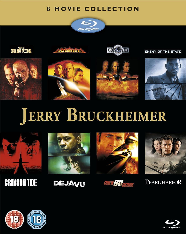 Pack: Jerry Bruckheimer Collection 8 Películas Reino Unido Blu-ray: Amazon.es: Sean Connery, Nicolas Cage, Ed Harris, Bruce Willis, Billy Bob Thornton, Michael Bay, Simon West, Tony Scott, Dominic Sena: Cine y Series