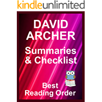 DAVID ARCHER BOOKS IN ORDER WITH SUMMARIES AND CHECKLIST - Includes latest Sam Prichard and Noah Wolf titles: All Books…