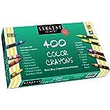 Sargent Art 55-3220 Best-Buy Assortment Crayon 3-5/8-Inch 400-Count