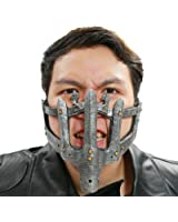 Xcoser Mad Prison Max Mask Cosplay PVC Half Face Adjustable Halloween Prop