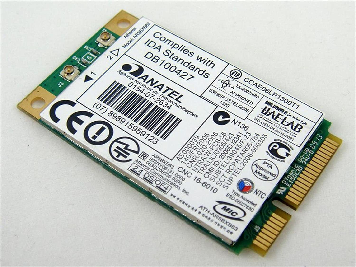 QUALCOMM ATHEROS AR5007 WIFI ADAPTER WINDOWS 8 DRIVER