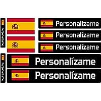 Haberdashery Online Kit 9 Adhesivos con Bandera, Texto