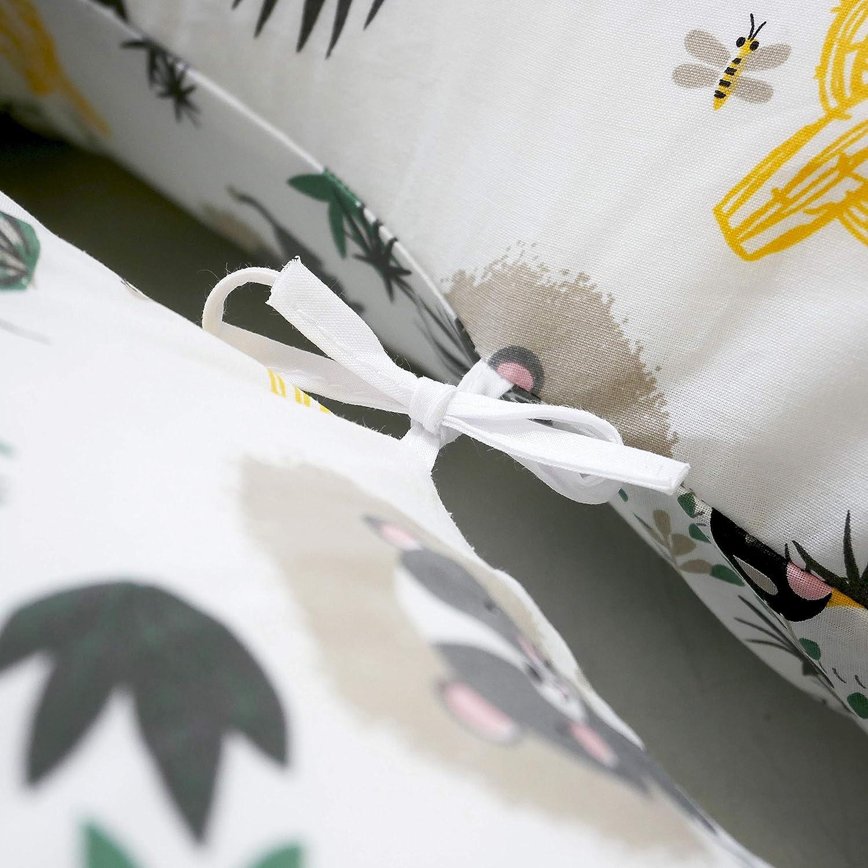 DIRECT FABRICANT FRANCE : Coussin dallaitement Fabrication Fran/çaise D/éhoussable 180cm MODULIT Prix Usine Jungle