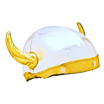 Viking Helmet Cover (Lycra) - One Size Fits All (Kids + Adults ... 6d7c99537