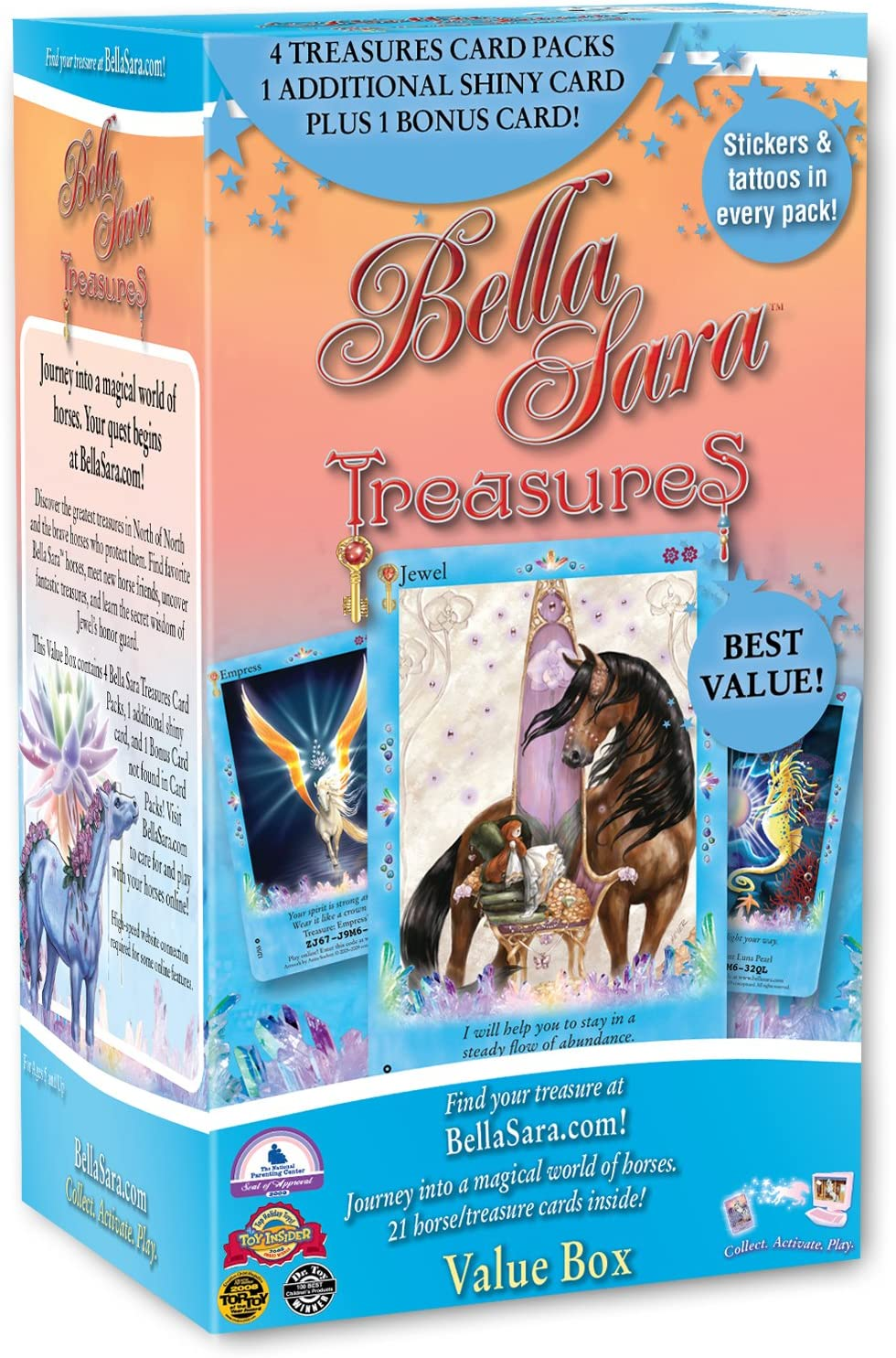 Royalty Bella/'s Ball 5 jumbo shiny cards Bella Sara Classic box set Treasures