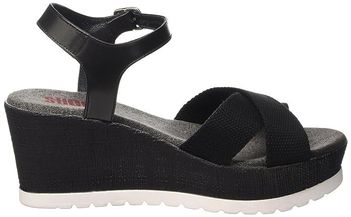 14e98a127f9 SHOOT Shoes Sh-160181b Damen Sommer Keil Leder Sandale Plateau Schuhe