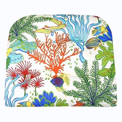 Amazon.com: Cojín de silla de jardín – Peces tropicales ...