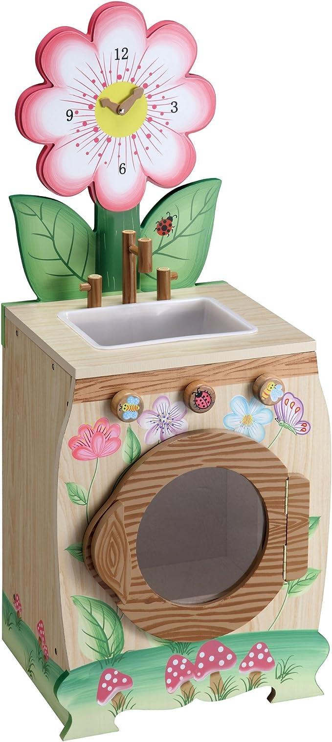 Lavadora de juguete de madera Enchanted Forest de Teamson Kids W ...