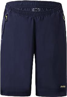 FANHANG sèche Vite Outdoor Shorts de randonnée avec 3 Zipper Poches