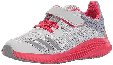 adidas Performance Girls Fortarun EL K Running Shoe Grey Two Grey Three