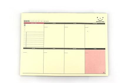 excelity week plan weekly planner pad make a list notepad