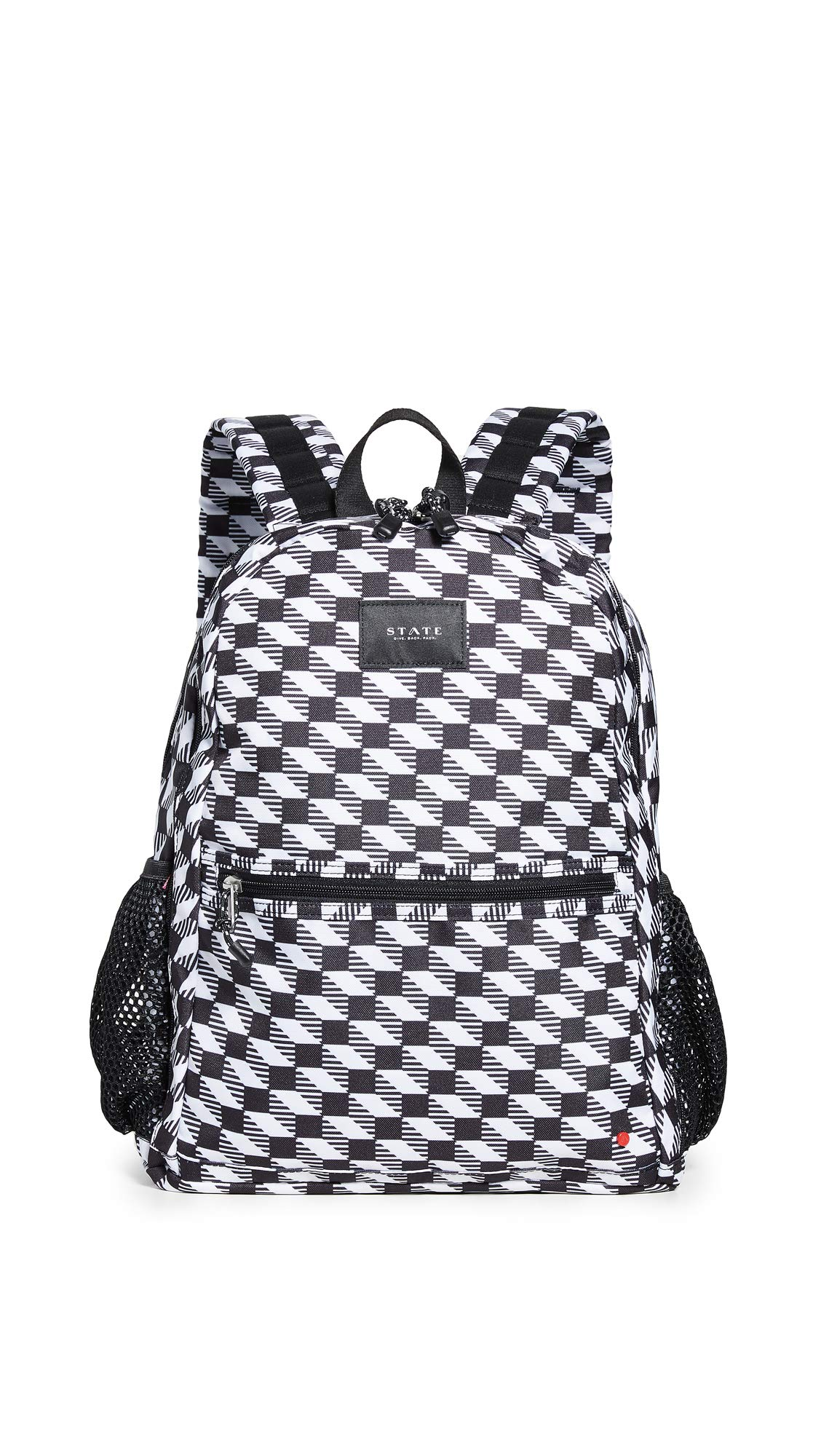 STATE Women's Bedford Backpack, Black/White, One Size by STATE Bags