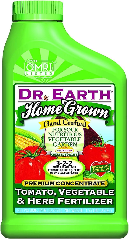 Dr. Earth 100531567 Home Grown Tomato Liquid Fertilizer Concentrate, White