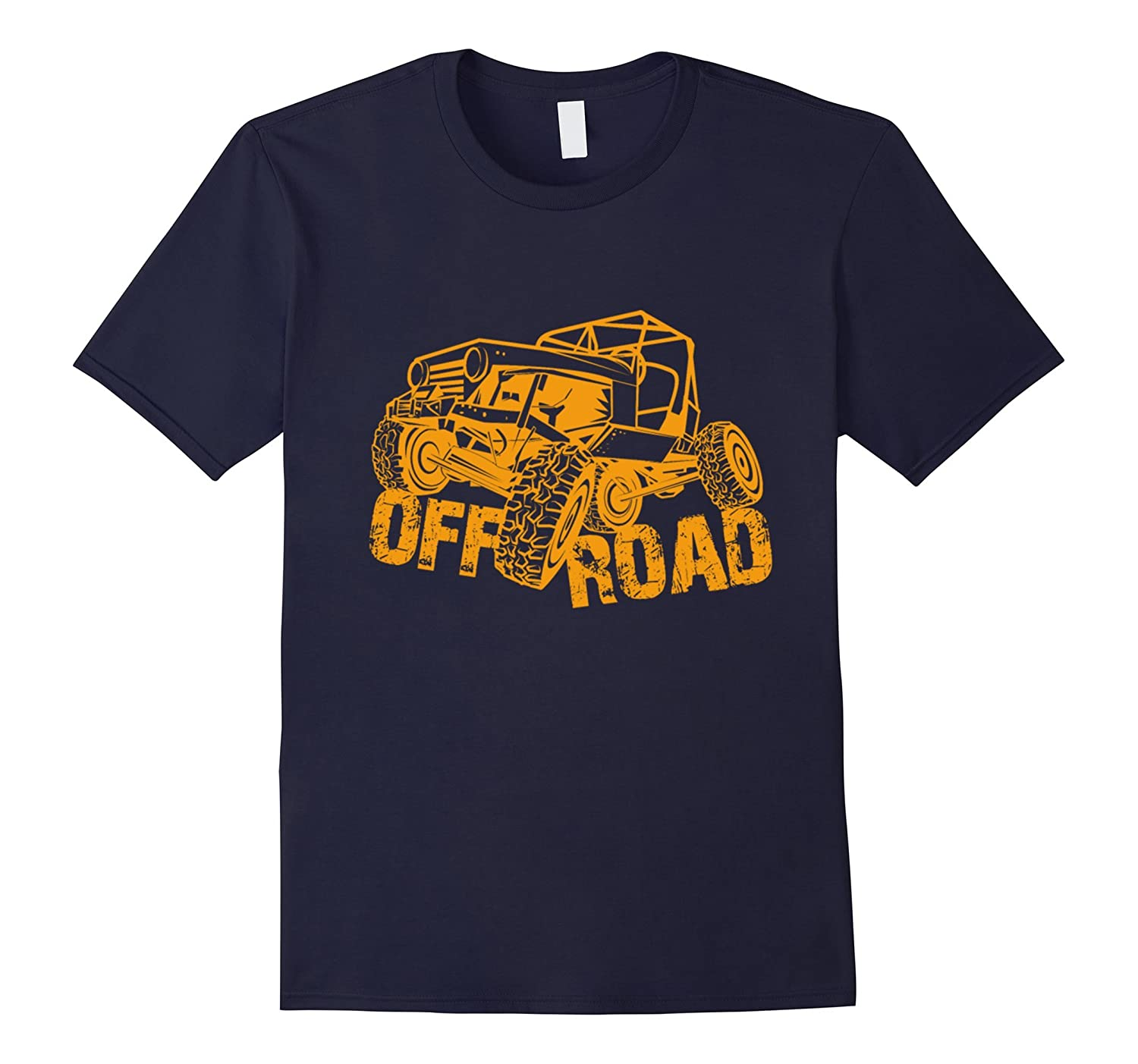 Funny Jeep T-shirt Old Man With Off Road -Teehay
