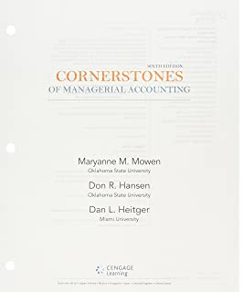 Cornerstones of managerial accounting maryanne m mowen don r bundle cornerstones of managerial accounting loose leaf version 6th cengagenowv2 fandeluxe Images