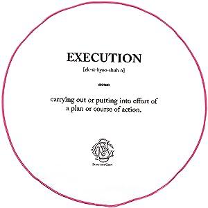 Sebastien Grey The Explanation of Execution Pocket Round (Hot Pink Border)