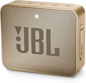 JBL Lifestyle Jbl JBLGO2CPN GO 2 Portable Bluetooth Waterproof Speaker (Champagne), 4.3 X 4.5 X 1.5