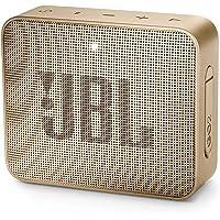 JBL GO 2 - Mini Enceinte Bluetooth portable - Étanche pour piscine & plage IPX7 - Autonomie 5hrs - Qualité audio JBL - Champagne