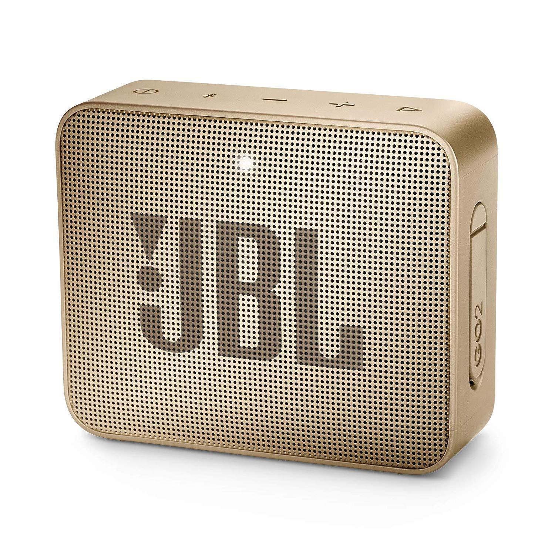 JBL Go 2 Portable Waterproof Bluetooth Speaker With Mic