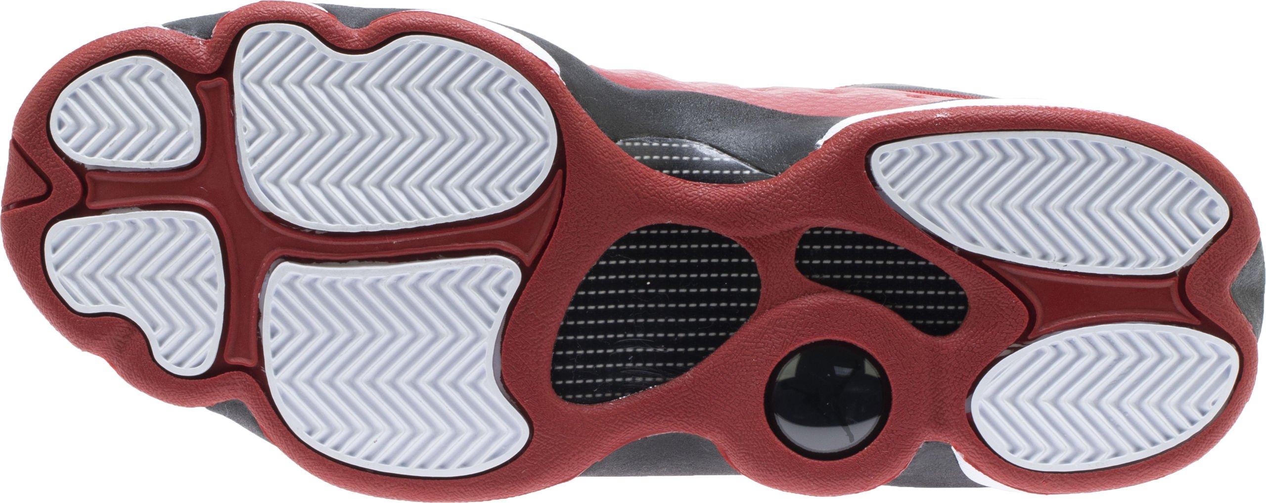 Jordan Kids Jumpman Team II GS Gym RED Gym RED Black White Size 3.5 by Jordan (Image #6)