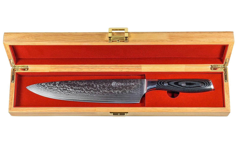Cuchillo de Damasco Stallion