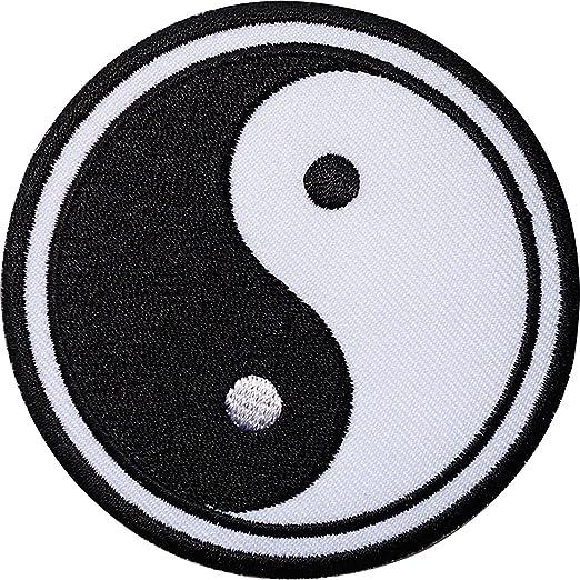 Negro Blanco Inspiración espiritual de meditación hindú Yin ...