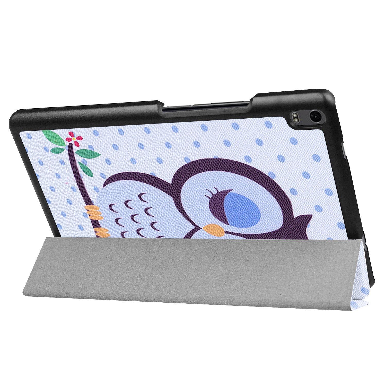 GRATIS Stylus Touch Pen Schutzh/ülle f/ür Lenovo Tab4 8 Plus 8.0 Zoll TB-8704F Ultra Slim Cover Hardcase aufstellbar Wake /& Sleep Funktion
