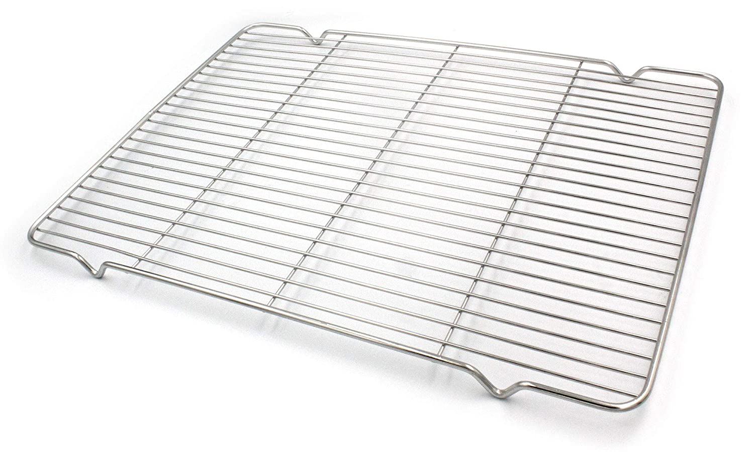 Cooling Baking Rack, Chef Quality 15.8 x 11.8 inch Tight-Grid Design, Oven Safe for Cooking, Roasting, Grilling, Fits Half Sheet Cookie Pan Handook