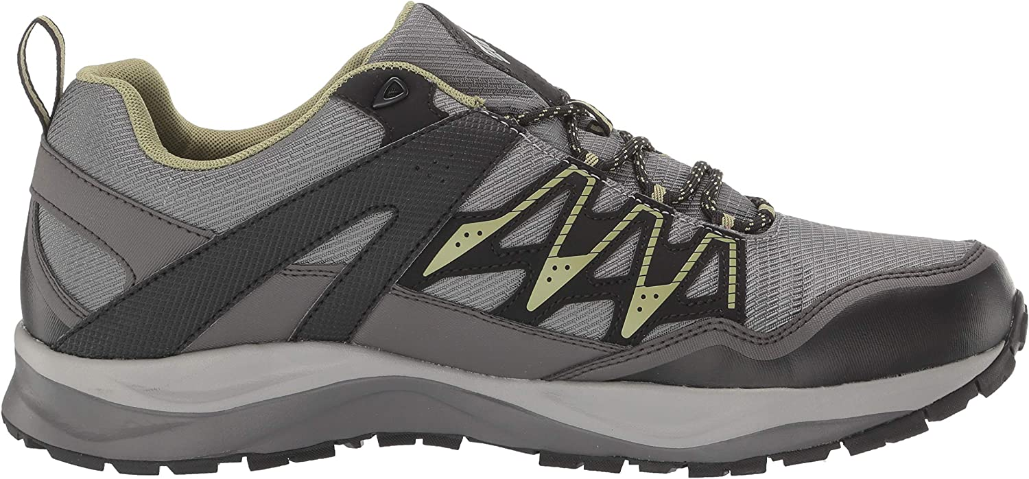 Columbia Men's WAYFINDER Outdry Hiking Shoe Ti Grey Steel, Cool Moss