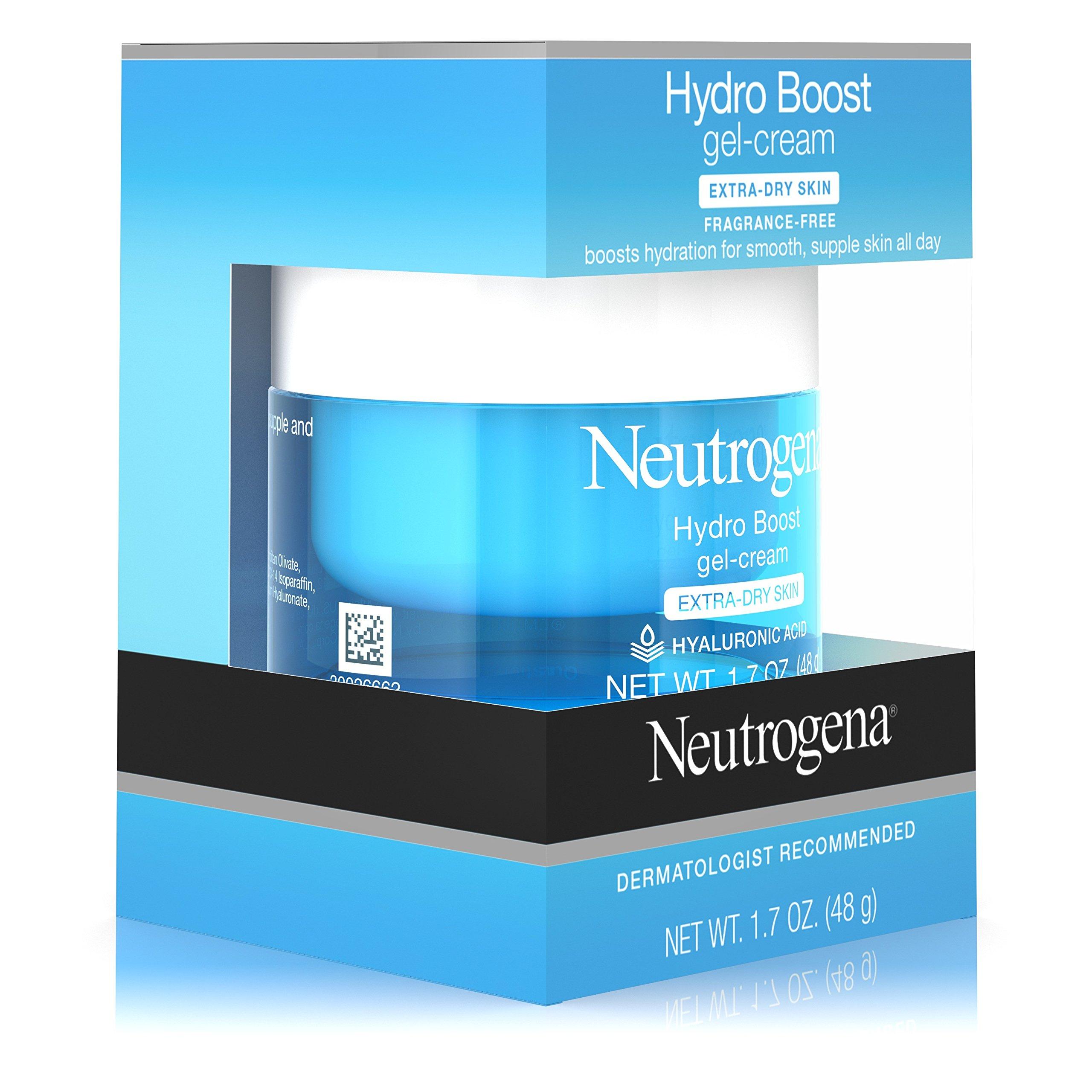 Neutrogena Hydro Boost Hyaluronic Acid Hydrating Face Moisturizer Gel-Cream to Hydrate and Smooth Extra-Dry Skin, 1.7 oz by Neutrogena (Image #6)