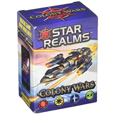 White Wizard Games Star Realms: Colony Wars: Toys & Games
