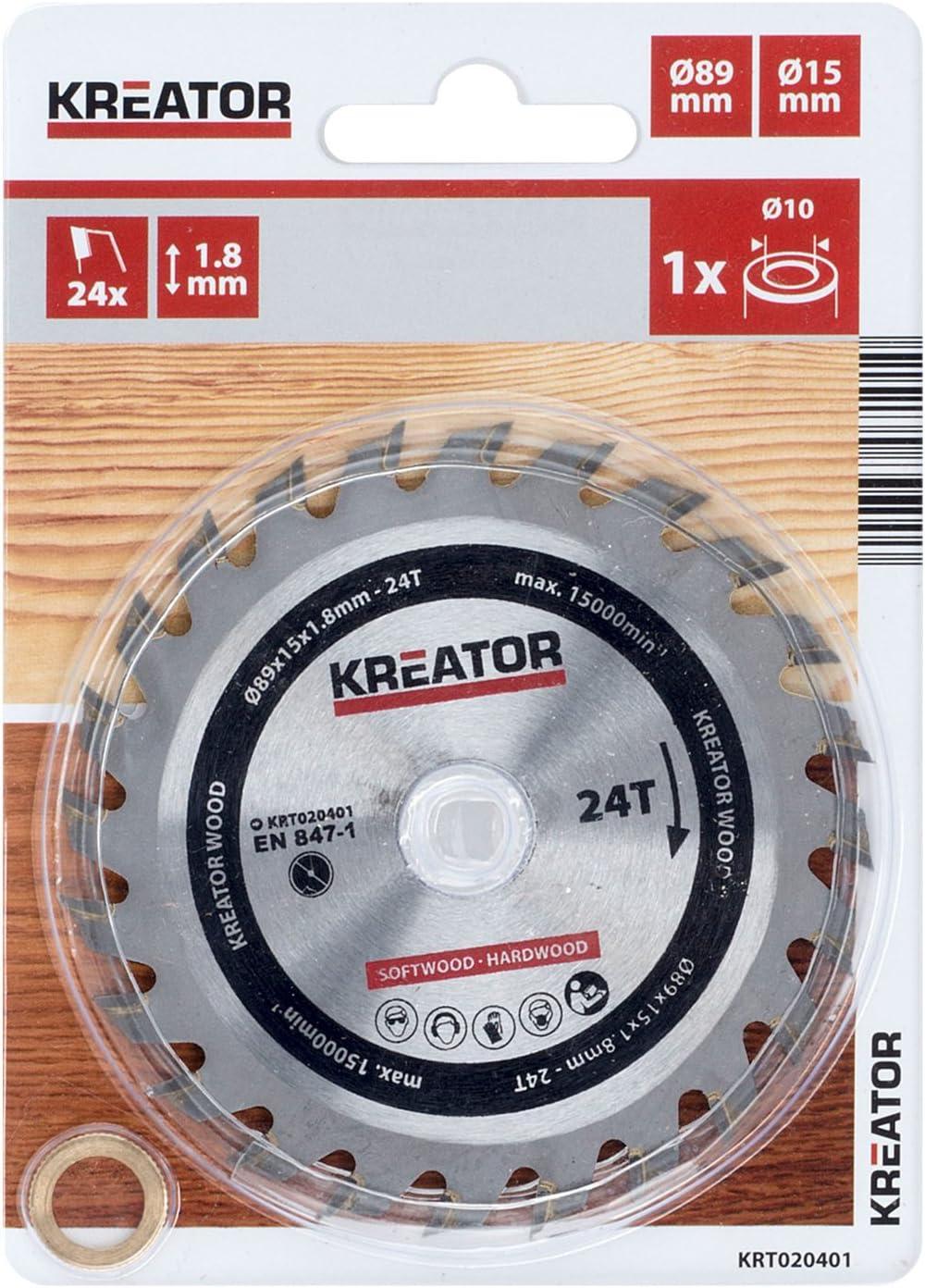 KREATOR KRT020401 KRT020401-Disco von Sierra Madera 89 mm24d
