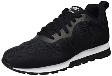 e285d7c50b045 Nike New Women s MD Runner 2 BR Sneaker Black Black White 6