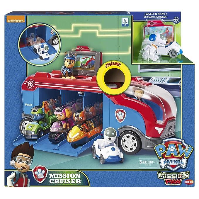 Patrulla Canina-61926719 Mission Cruiser Autobús, (Bizak 61926719): Amazon.es: Juguetes y juegos
