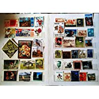 GOLD MINT 500+ Stamp Album with 500 Different Original Whole World Vintage Used / CTO Stamps