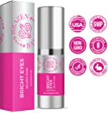 """Eye Cream,""""Bright Eyes"""" by Brazen Babe- Eliminates Dark Circles, Puffiness, Fine Lines & Wrinkles-Scientifically Proven, Natural Moisturizing Treatment Brightens and Tightens"""