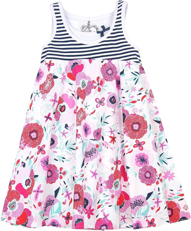 Sizes 5-12 Deux par Deux Girls/' Dress in Floral Print So Happy