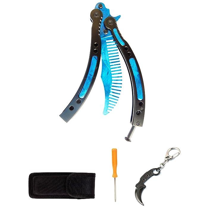 Ftech Balisong cuchillo de entrenador mariposa cuchillo de ...
