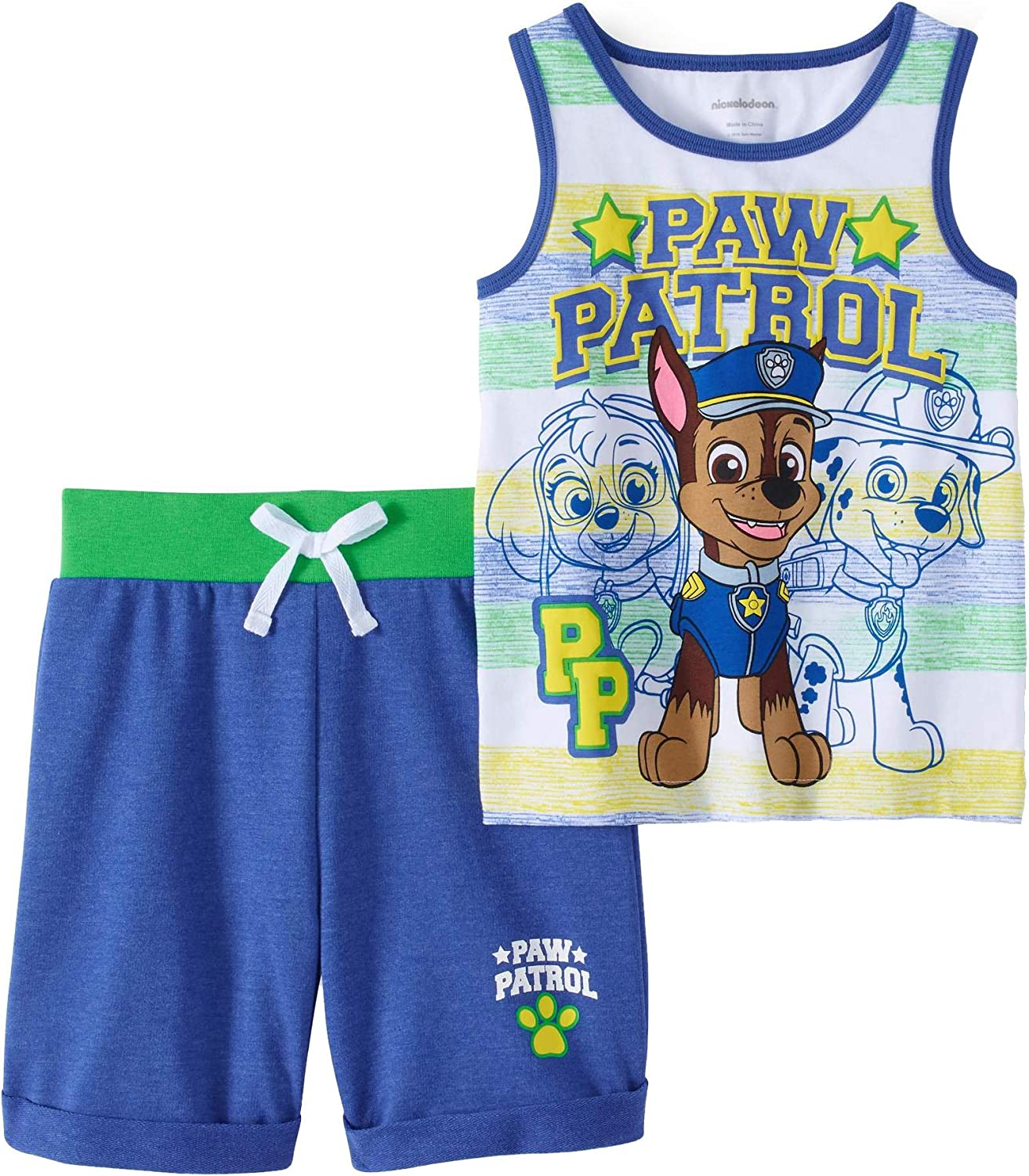 Nickelodeon Paw Patrol Girls Infant and Toddler Shorts Clothing Sets