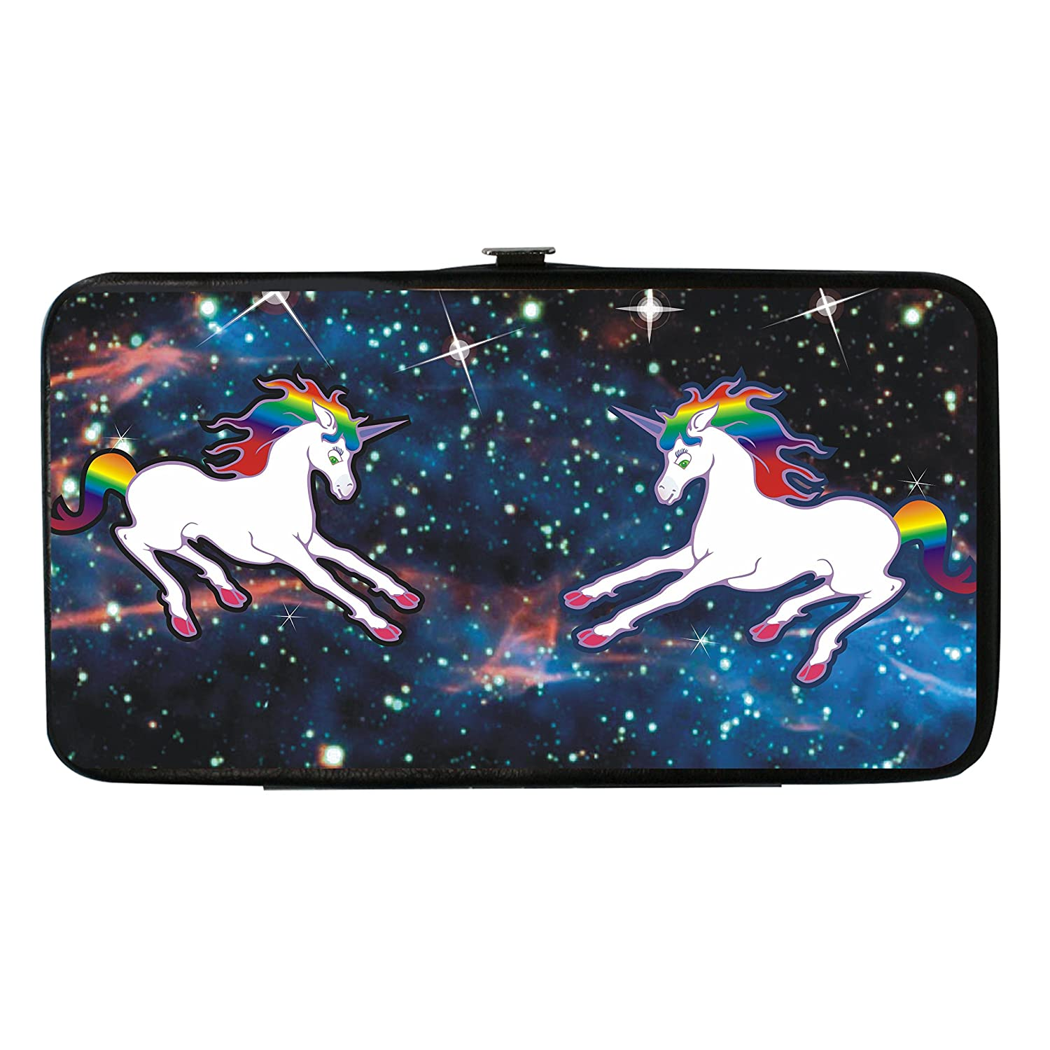 Buckle Down Kids' Unicorn Universe Hinged Card Case Wallet Buckle-Down HW-W32121