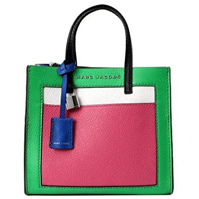 a228f9513ccc Image Unavailable. Image not available for. Color  Marc Jacobs The Grind  Mini Colorblock Leather Tote ...