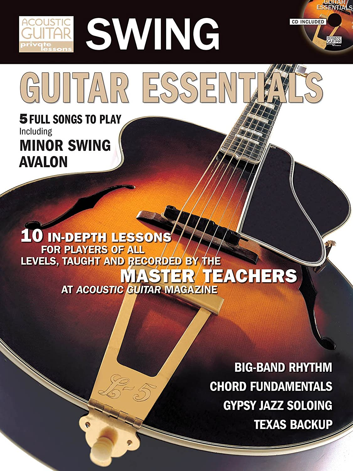 Amazon Swing Guitar Essentials Book And Cd Package Tab