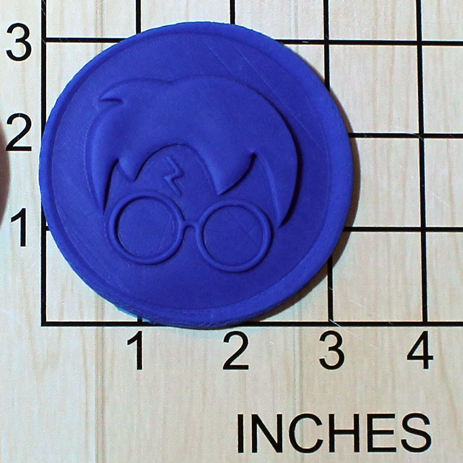 Harry Potter's Head Fondant Cookie Cutter AND Stamp #1620