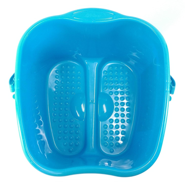 Amazon.com: Ohisu Blue Foot Basin for Foot Bath, Soak, or Detox ...