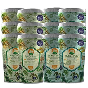MultiGen Purees, Pureed Vegetable Meals for Adults and Children, Healthy 6 Ounce Portion of Pureed Food (Zucchini Zen & Herby Roots (12 Pack))