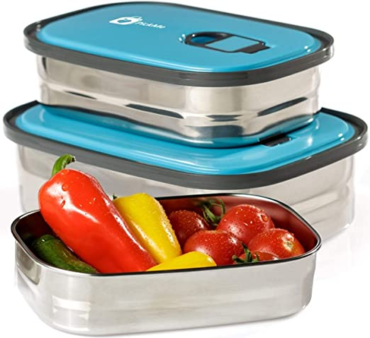 Plastic Containers for Lunch//Small Food Containers with Lids Leak Proof,